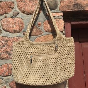 The Sak Woven Purse with Sequins